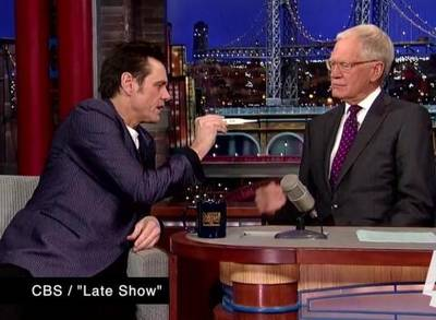 News video: Late-Night Laughs: Jim Carrey's Ebola Test, Jake Gyllenhaal Gets Wet